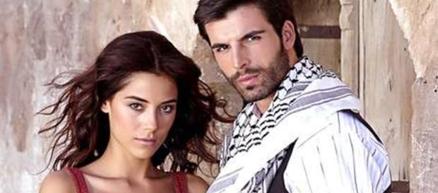 O casal protagonista de ''Sila: Prisioneira do Amor'