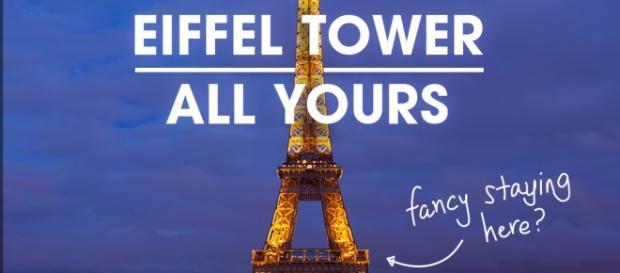 Parigi e la Tour Eiffel sul sito HomeAway