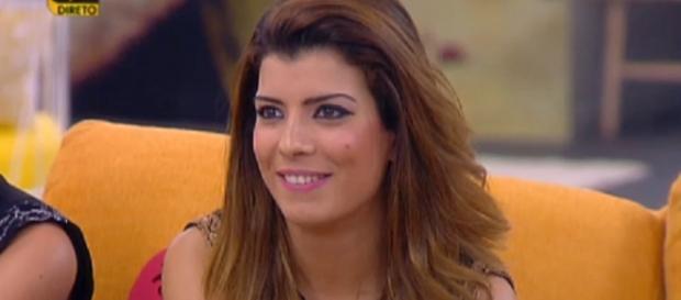 Sofia Sousa dentro da casa mais vigiada do país