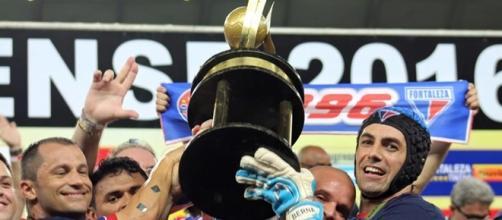 Campeão cearense, o Fortaleza eliminou o Flamengo na segunda fase da Copa do Brasil