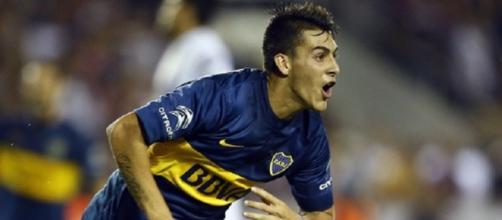 Cristian Pavon, autore di un gol importantissimo per il Boca Juniors