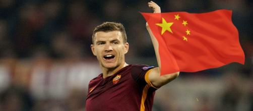 Edin Dzeko potrebbe trasferirsi in Cina durante la prossima sessione di calciomercato.