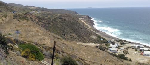 El límite de México y el Océano Pacífico