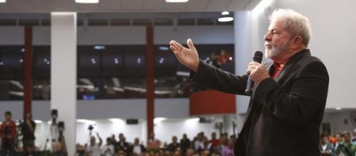 Lula em reunião com sindicalistas