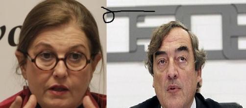 Mónica Oriol y Rosell en actos públicos.