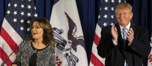 Sarah Palin, Donald Trump, creative commons via Flickr