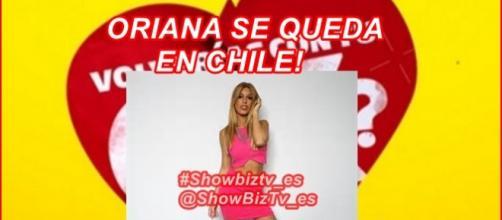 Según el manager Oriana se queda en Chile !!!