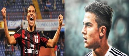Tutti i numeri di Bacca e Dybala, che decideranno la finale di coppa Italia Milan-Juventus del 21 maggio 2016