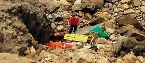 Vítima caiu numa zona de difícil acesso e não resistiu aos ferimentos
