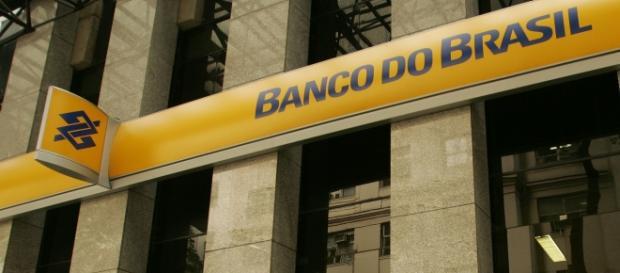 Agência do Banco do Brasil, fachada.