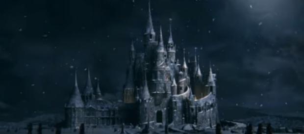 As you will see in the teaser, the Beast's castle doubles as the company's logo/Photo via YouTube.