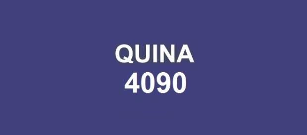 Divulgação do resultado da Quina 4090; Prêmio de R$ 3,2 milhões.