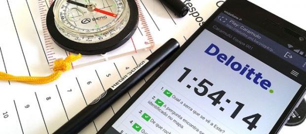 Faça parte do time Deloitte. (Foto: Younity/Reprodução)