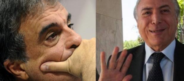 José Eduardo Cardozo e Michel Temer