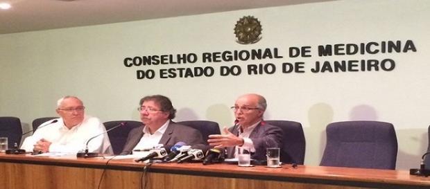 Reunião importante no Rio. (Foto: Alba Valéria Mendonça / G1)