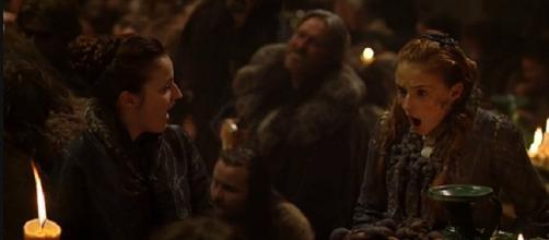 Sansa en un fotograma de 'Juego de Tronos'