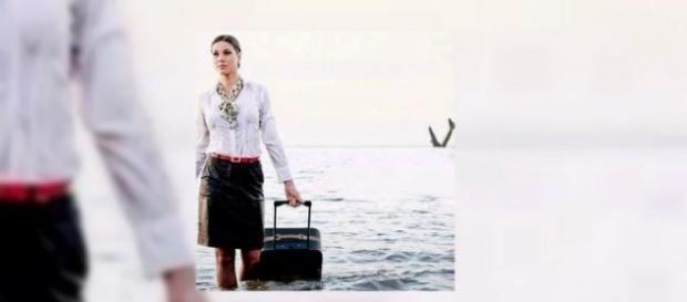 A foto que 'profetizou' quase 2 anos antes, a queda do avião da Egyptair