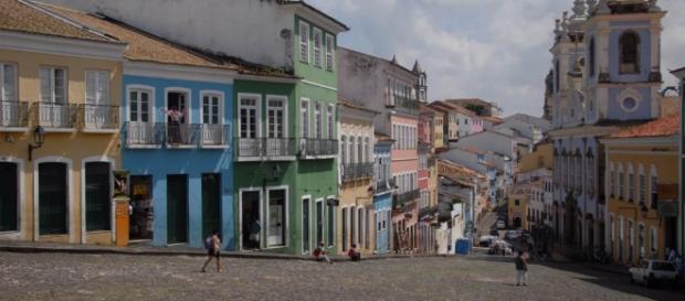 A tocha chegou em Itacaré, na Bahia.