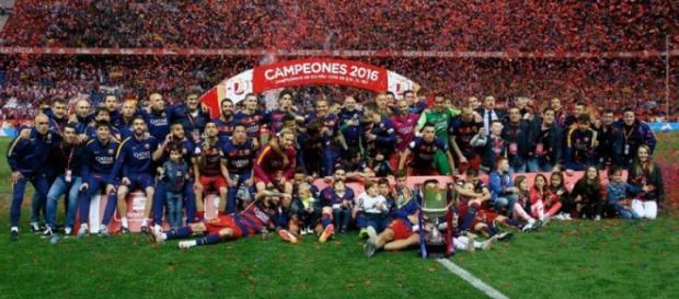 F.C.Barcelona, campeón de la Copa del Rey 2016