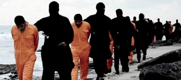 Imagine de la o altă execuţie islamistă