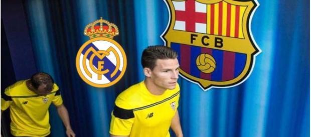 Kevin Gameiro tendrá que decidir entre fichar por el Barça o por el Real Madrid