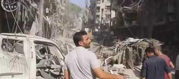 Las explosiones se han llevado a cabo por terroristas suicidas y coches bomba