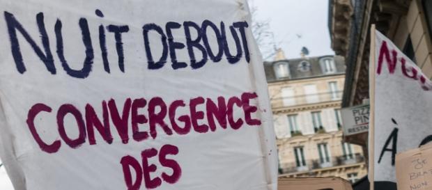 Rassemblement Nuit Debout à Paris