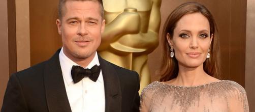 Brad Pitt e Angelina Jolie ad un gala