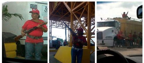 Civiles armados por el Gobierno Venezolano