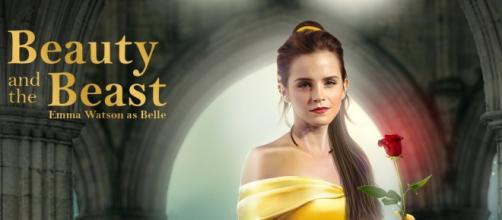 Emma Watson interpreta la giovane Belle