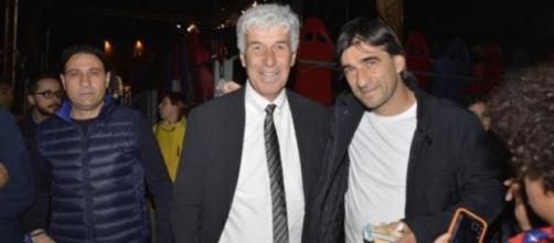Gian Piero Gasperini e Ivan Juric.