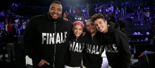 I quattro finalisti si Amici 15.