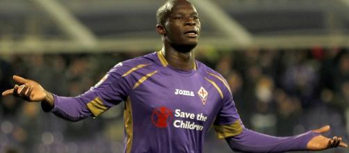 L'attaccante della Fiorentina, Khouma el Babacar.