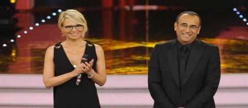 Maria De Filippi e Carlo Conti (conduttori televisivi)