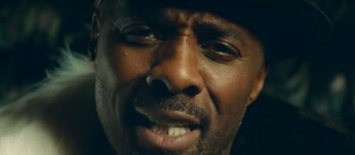 Screenshot of Idris Elba in Macklemore and Ryan Lewis' 'Dance Off' music video. Ryan Lewis/YouTube.