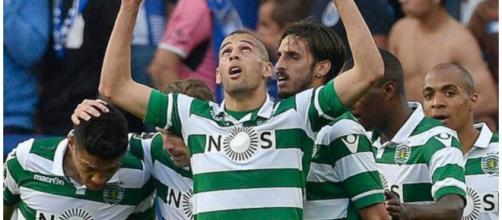 Slimani e João Mário deverão sair do Sporting