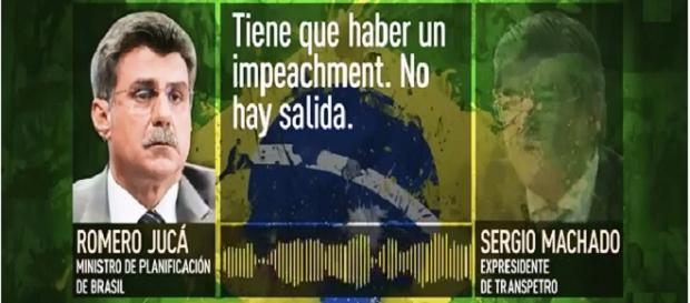 El audio del golpe, captura de pantalla de RT