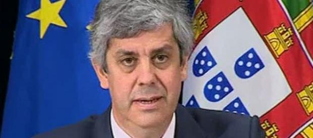 Mário Centeno, Ministro das Finanças.