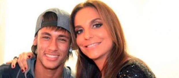 Neymar e Ivete Sangalo fazem sucesso também nas redes sociais