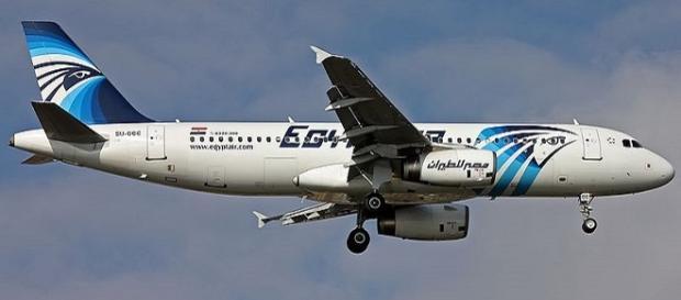 Un Airbus 320 in servizio per la compagnia aerea EgyptAir