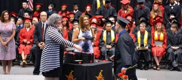 Wrong name, wrong diploma. Photo credit used with permission © Sarah Wren, 2016