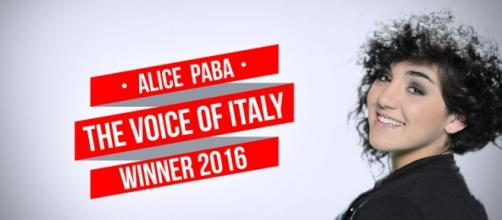 Alice Paba vince The Voice 2016