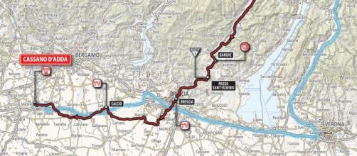 Giro d'Italia 2016: tappa 17 Molveno-Cassano d'Adda