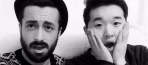 Han y Aritz; su ruptura en directo