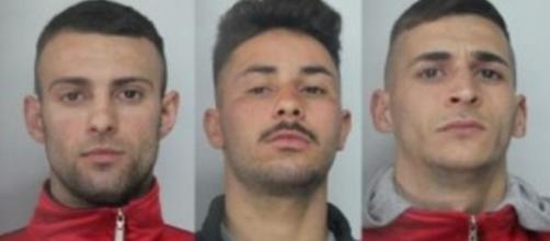 I tre giovani condannati per l'omicidio Forestieri