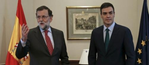 Rajoy y Sánchez serían los protagonistas de la gran coalición