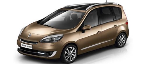 Renault Grand Scènic: 24 cm in più della versione normale.