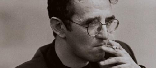Una imagen del escritor Roberto Bolaño