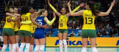 Vôlei feminino cai no grupo do Japão e Rússia