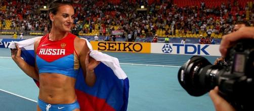 Yelena é uma das estrelas do atletismo